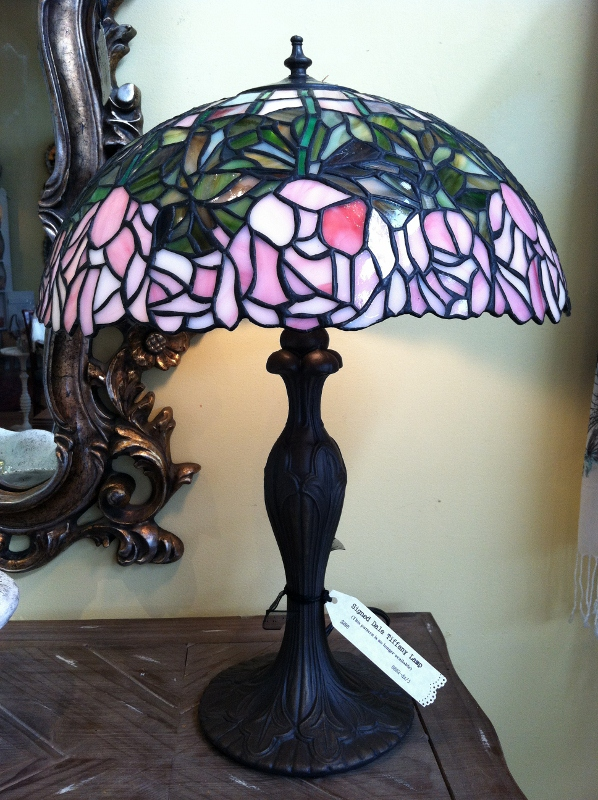pair of discontinued dale tiffany lamps the curious peddler. Black Bedroom Furniture Sets. Home Design Ideas