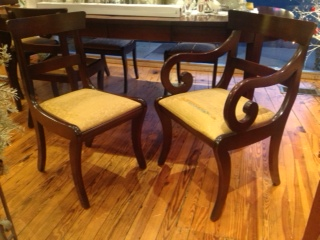 early american craftique chairs the curious peddler