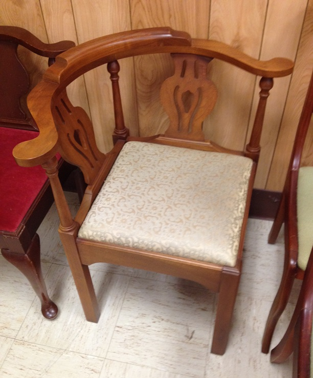 Charmant 1105 Chippendale Corner Chair