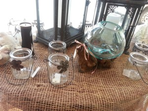 unusual glass candle jars three sizes