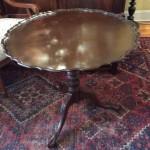 rare craftique pie crust table