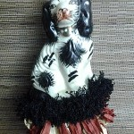 staffordshire dog tassel