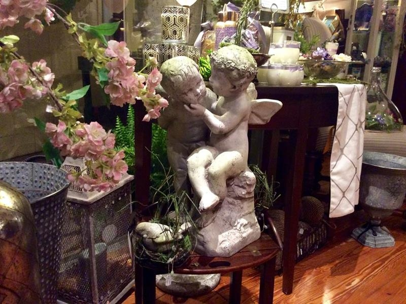 Cherubs from the front window
