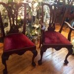 Craftique Philadelphia Chippendale Chairs #1112