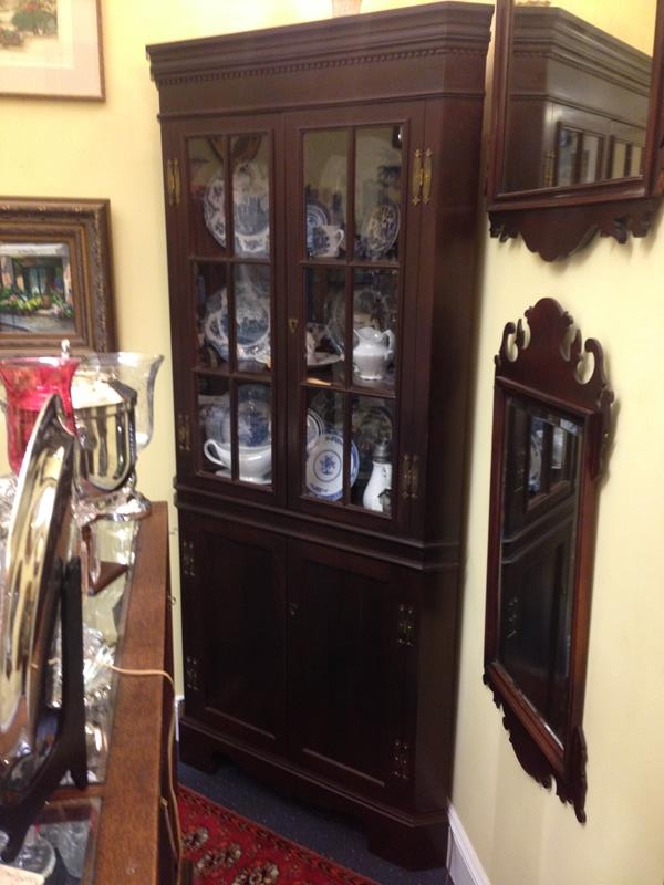 310 Craftique Low Country Corner Cabinet