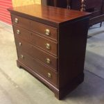 #240 Rare four drawer chest , dated 1946