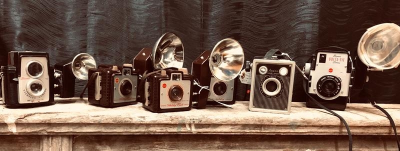 mid century camera collection